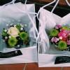 teacups in bags